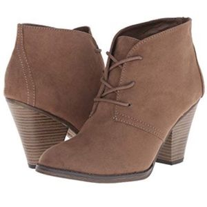 MIA Tie-up Ankle Booties